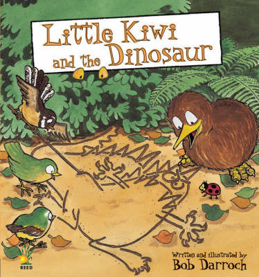 Little Kiwi and the Dinosaur by Bob Darroch image