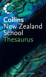 Collins New Zealand School Thesaurus (2nd Ed) image
