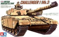 Tamiya British Challenger 1 Mk3 Main Battle Tank 1/35 Model Kit