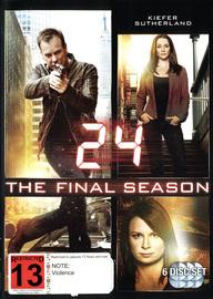 24 - Season 8 on DVD