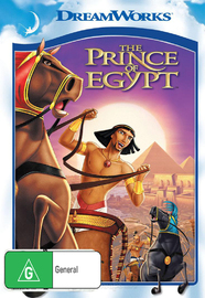 The Prince of Egypt on DVD image