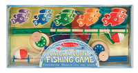 Melissa & Doug: Catch & Count Magnetic Fishing Rod Set