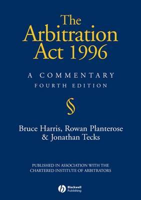 The Arbitration Act 1996: A Commentary by Bruce Harris image
