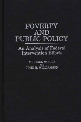 Poverty and Public Policy by Michael Morris image