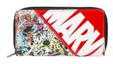Marvel - All Over Action Large Zip Around Wallet
