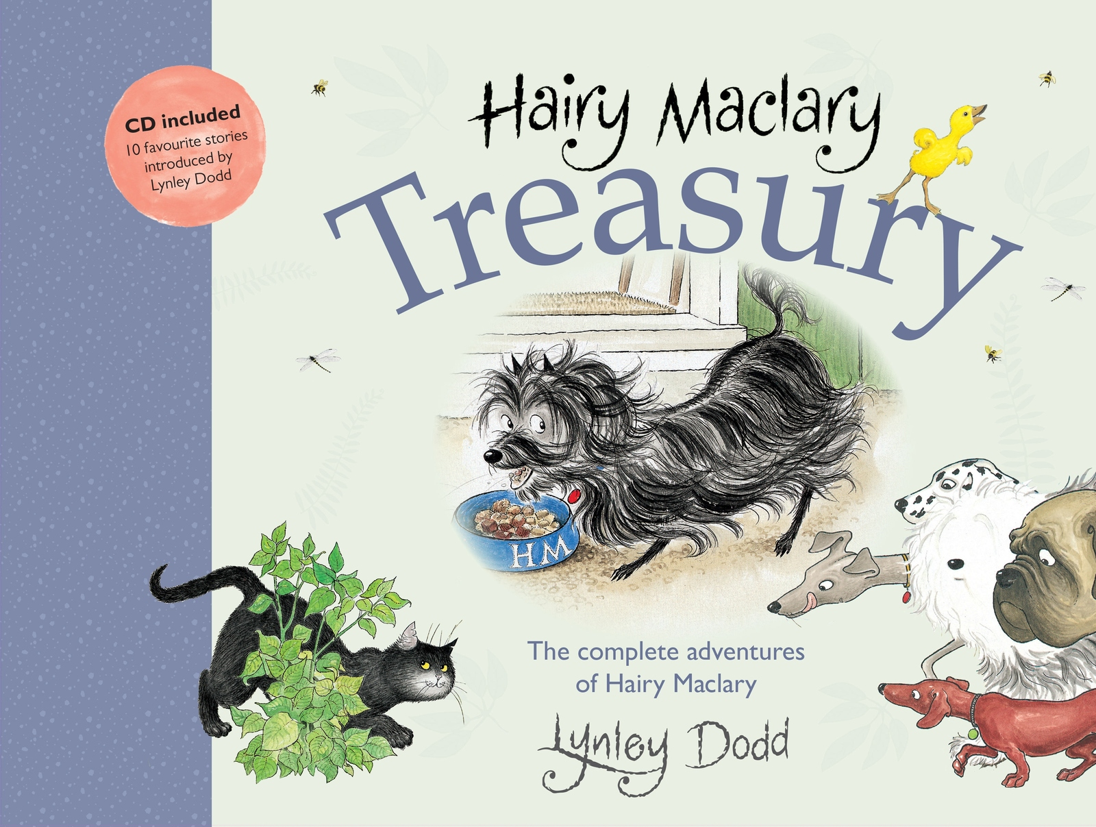 Hairy Maclary and Friends Treasury: the Complete Adventures of Hairy Maclary by Lynley Dodd image