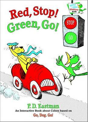 Red, Stop! Green, Go! by P.D. Eastman image