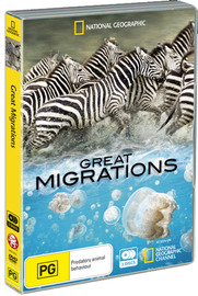 National Geographic: Great Migrations (3 Disc Set) on DVD