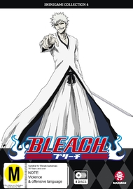 Bleach: Shinigami - Collection 04 (Eps 122-167) on DVD
