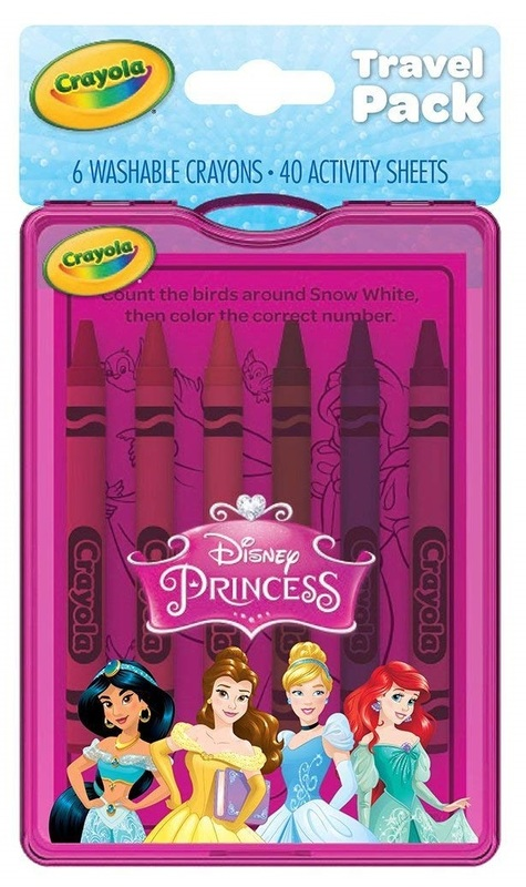 Crayola: On The Go Travel Pack - Disney Princess