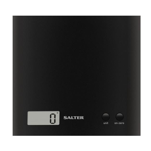 Salter Arc Electronic Kitchen Scale - Black