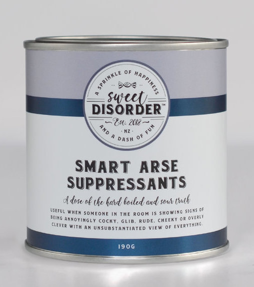 Sweet Disorder: Smart Arse Suppressants (190g)