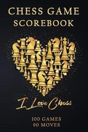 Chess Games Scorebook by Paper Kate Publishing image