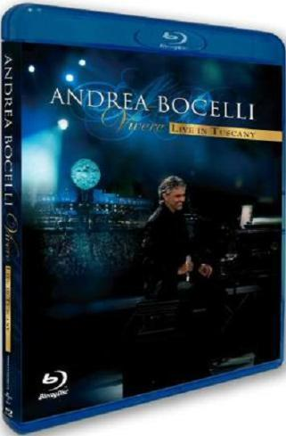 Andrea Bocelli - Vivere - Live In Tuscany on Blu-ray