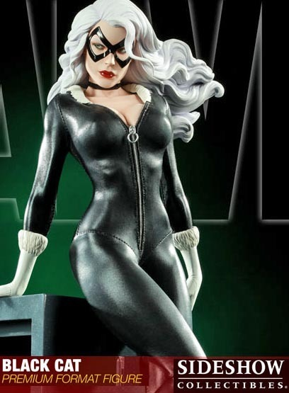 "Spiderman Premium Format 17"" Figure - Black Cat (Limited Ed. 1000)"