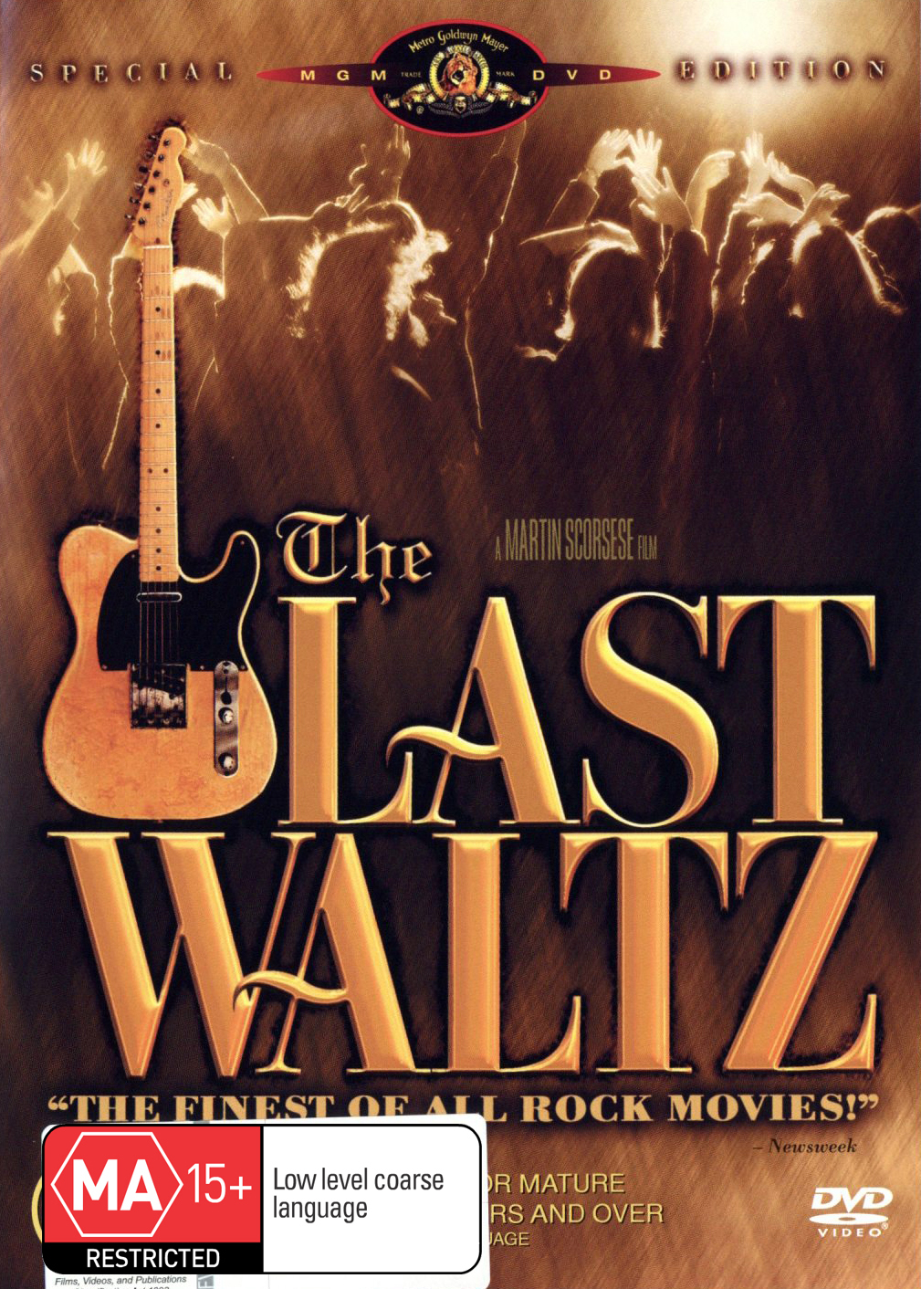 The Last Waltz on DVD image