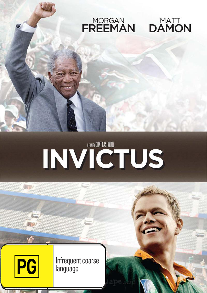 Invictus on DVD image