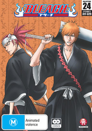 Bleach Collection 24 on DVD