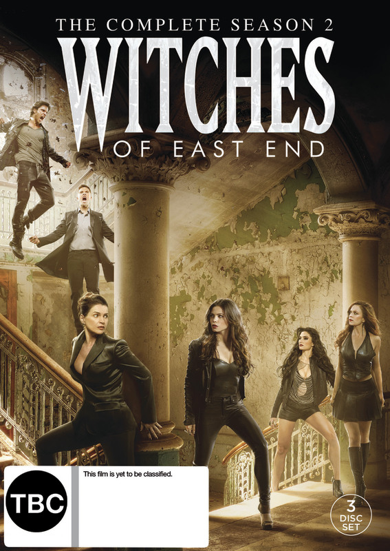 The Witches Of East End Season 2 on DVD