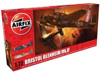 Airfix Bristol Blenheim Mk.IF Fighter 1:72 Scale Model Kit