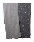 Babu: Elephant Blanket - Grey/Natural