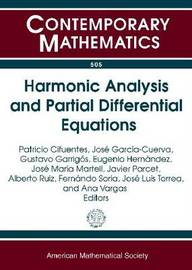 Harmonic Analysis and Partial Differential Equations image