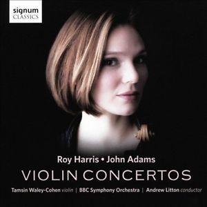 Adams & Harris Violin Concertos by Tamsin Waley-Cohen