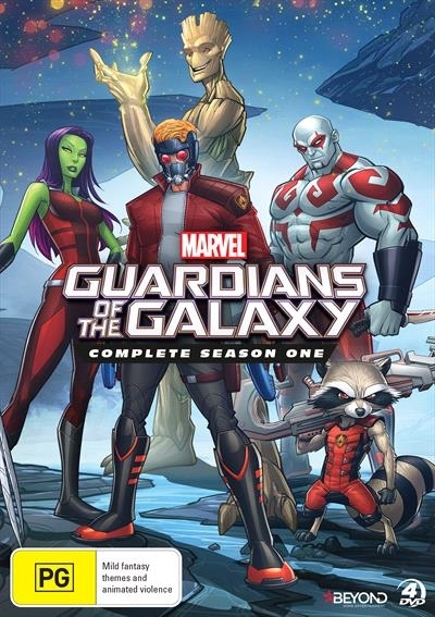 Guardians Of The Galaxy: Season 1 - Complete Collection on DVD image