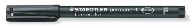 Staedtler: Lumocolor Permanent Fine Tip Pen - Black