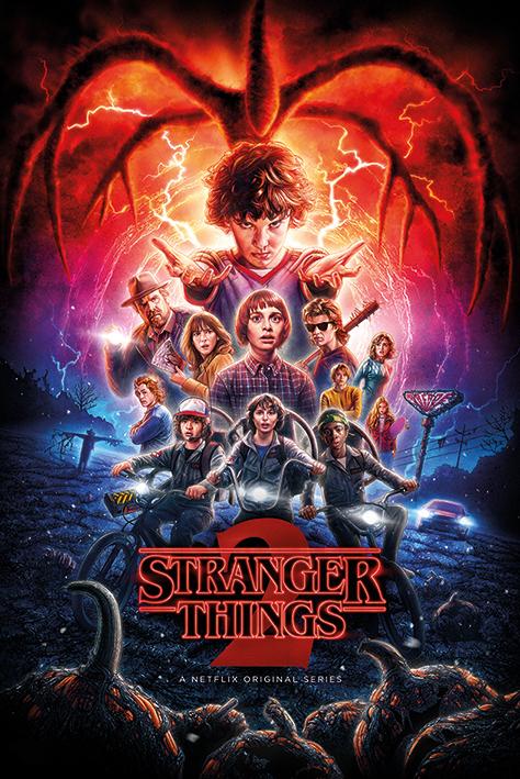 Stranger Things Maxi Poster - One-Sheet Season 2 (943)