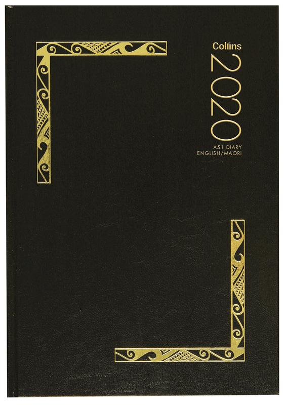 Collins: 2020 A51 Diary English/Maori