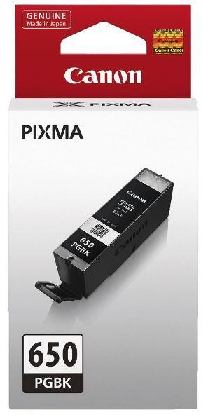 Canon Ink Cartridge - PGI650PGBK (Black)