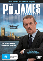 P.D. James Collection, The (3 Disc Set) on DVD