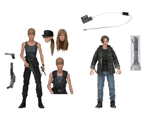"Terminator 2: Sarah & John Connor - 7"" Action Figure 2-pack"