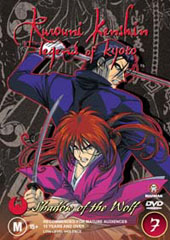 Rurouni Kenshin - V7 - Shadow Of The Wolf on DVD