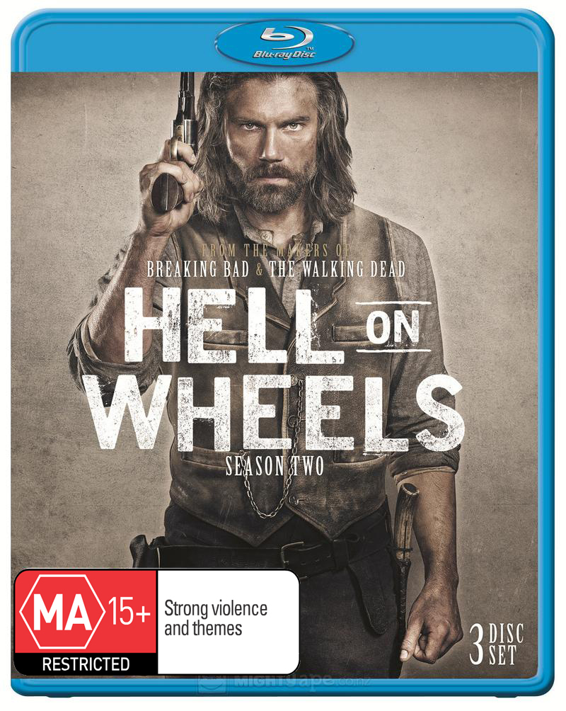 Hell on Wheels - The Complete Second Season on Blu-ray image