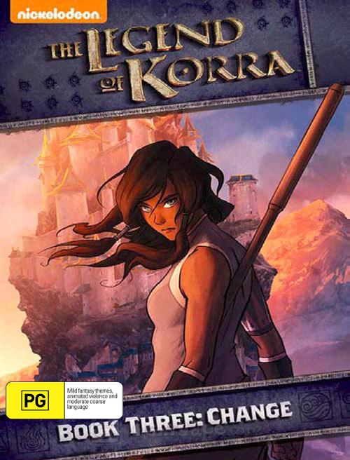 Legend Of Korra: Book Three: Change on DVD