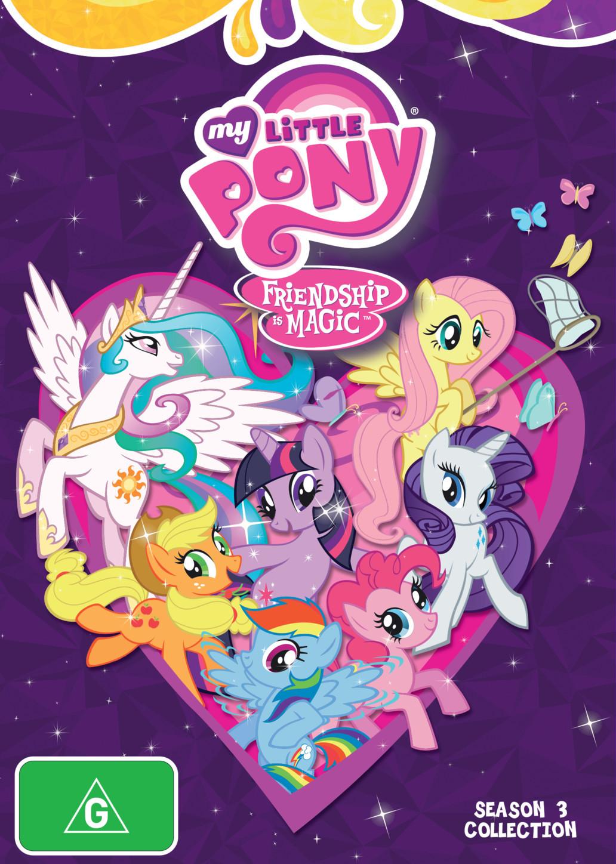 My Little Pony: Friendship Is Magic Season 3 Boxset on DVD image