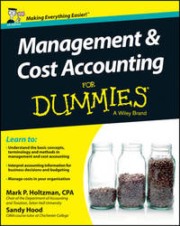 Management and Cost Accounting For Dummies - UK by Mark P. Holtzman image