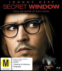 Secret Window on Blu-ray