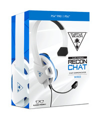 Turtle Beach Recon Chat White Headset for PS4