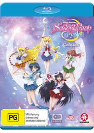 Sailor Moon Crystal Collection (Limited Edition) on Blu-ray