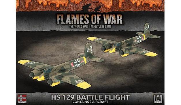 Flames of War: HS 129 Battle Flight
