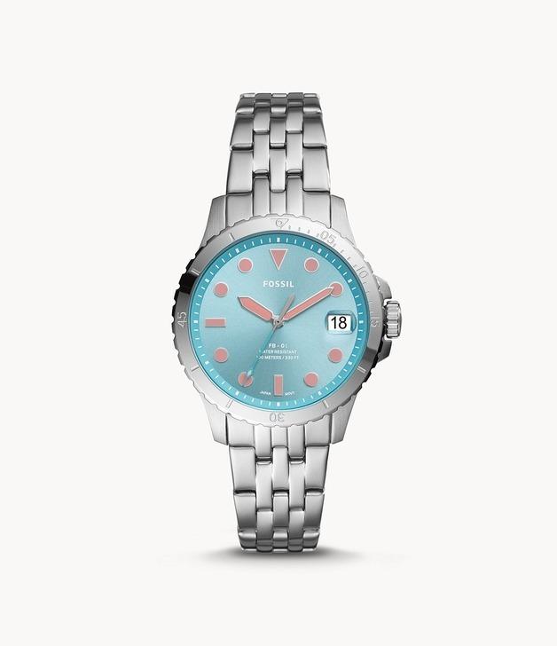 Fossil: FB-01 Watch - Silver/Multi