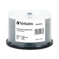 Verbatim CD-R 700MB 50Pk Crystal Thermal 52x Azo image