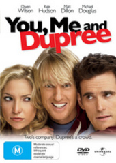 You, Me And Dupree on DVD