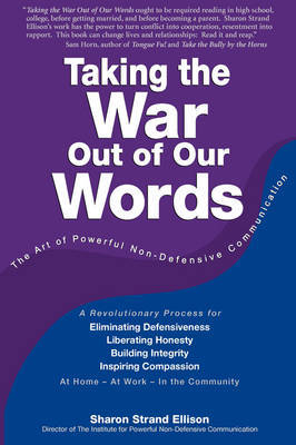 Taking The War Out Of Our Words (2009 Edition) by Sharon Ellison image