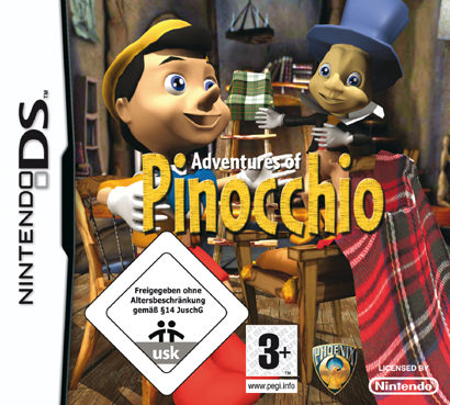 Adventures Of Pinocchio for DS image