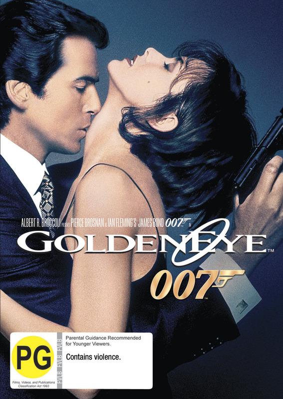 GoldenEye (2012 Version) on DVD