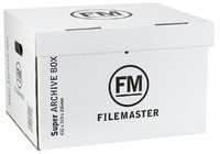 FM Jumbo Super Strength Archive Box (White) - 3 Pack